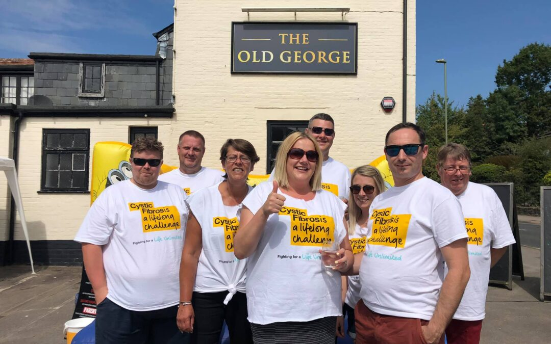 Over £4500 raised for the Cystic Fibrosis Trust